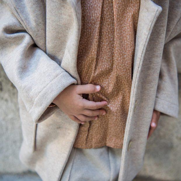 Блуза канела