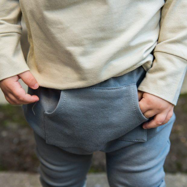 Панталон ледено сиво