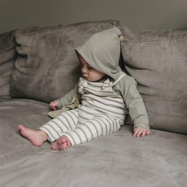 Бебешка блуза с помпон
