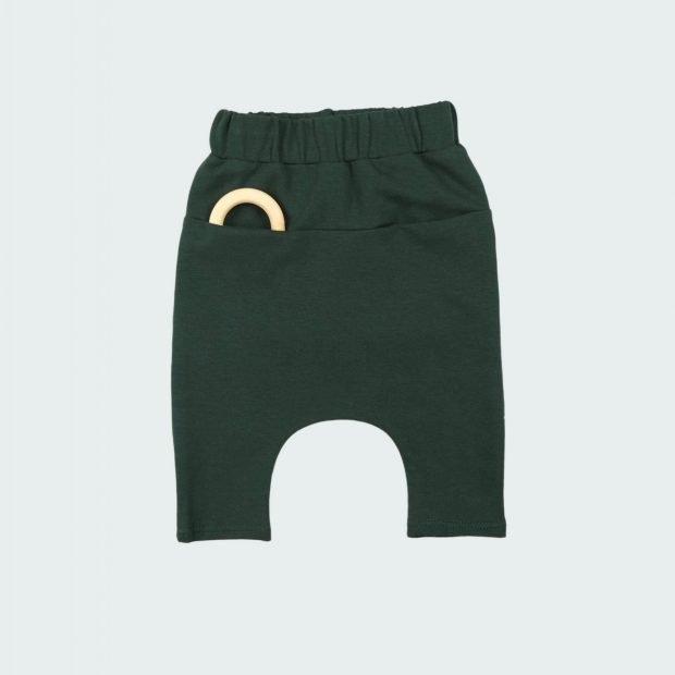 Бебешки панталон горско зелено