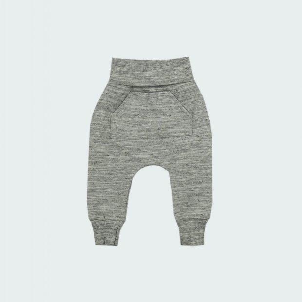 Бебешки панталон сиво меланж
