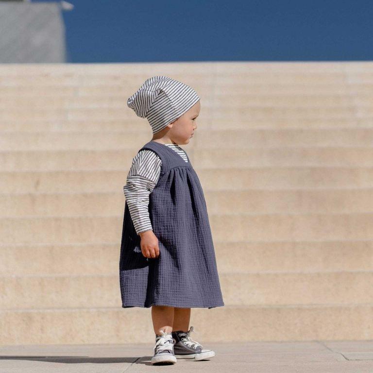 Лятна рокля графит